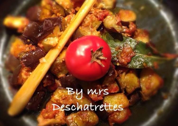 Easiest Way to Cook Perfect Balado terong tomat (Balado eggplant tomato)
