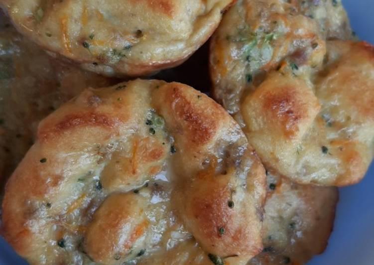 Resep Omelet Roti daging toddler food Bikin Laper