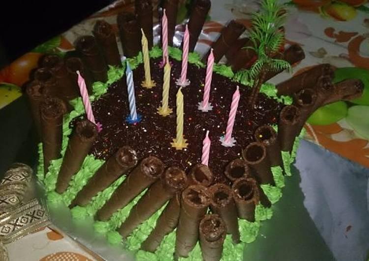 Cake ultah rasa sayange...