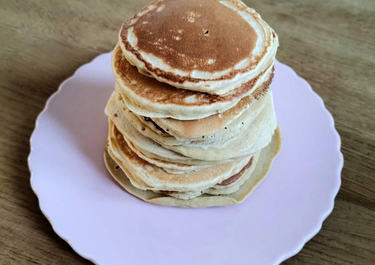 Le moyen le plus simple de Préparer Savoureux Des pancakes 🥞