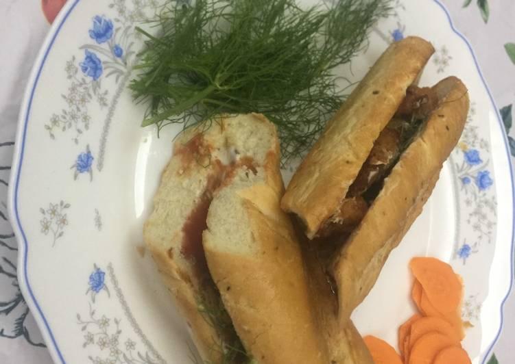 Fish Nugget Sandwich