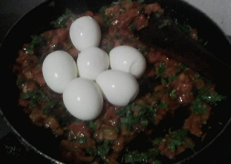 Menu to Make The Best Egg curry