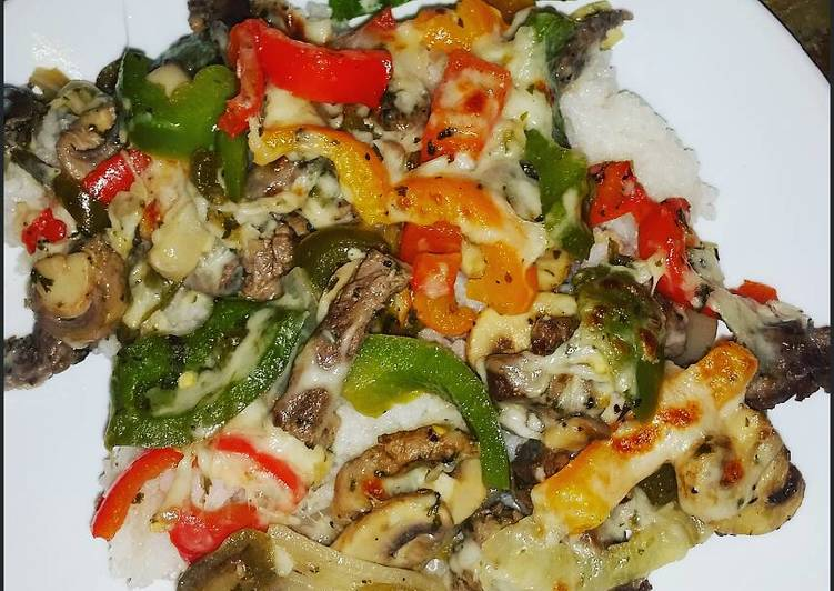 The Best Soft and Chewy Dinner Ideas Refreshing Philly Cheesesteak Rice Dinner