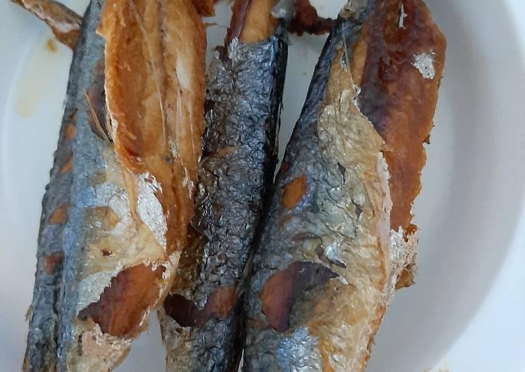 Ikan cue goreng biasa