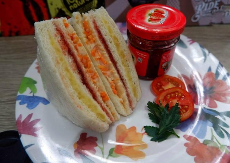 Resep Sandwich inkigayo ala idol korea Bikin Ngiler