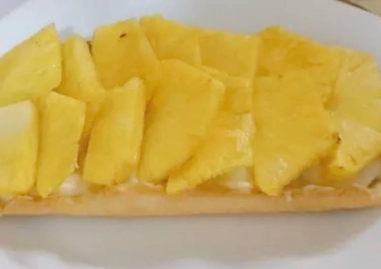 Tarte ananas
