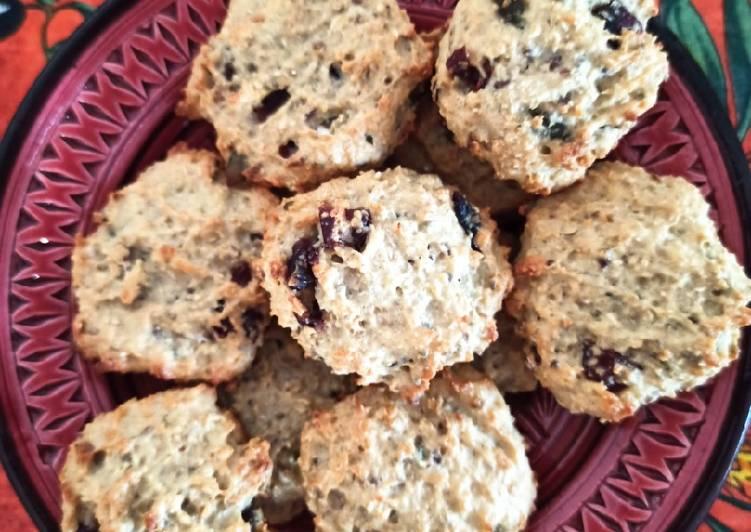 Biscuits à l'amande et aux graines