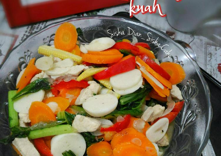 Capcay Kuah Simple
