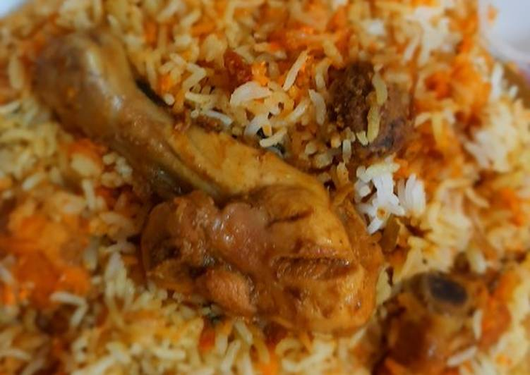 Simple Way to Prepare Chicken biryani in 33 Minutes for Mom