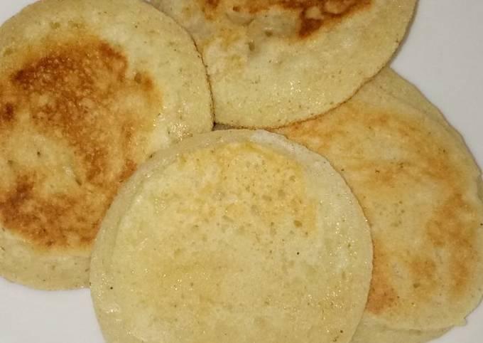 Breakfast gluten free samolina pancakes #Author marathon