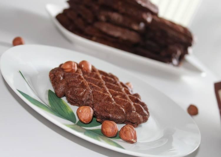 Recette Savoureux Gaufres Brownie