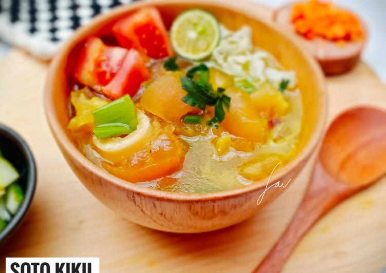 Cara membuat: Soto Kikil Kaki Sapi (Kuah Bening)