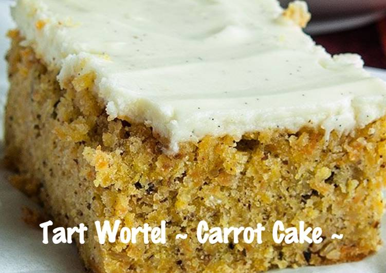 Resep Tart Wortel – Carrot Cake Favorit