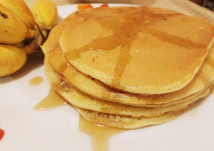 Pancake Pisang Aroma Kayumanis