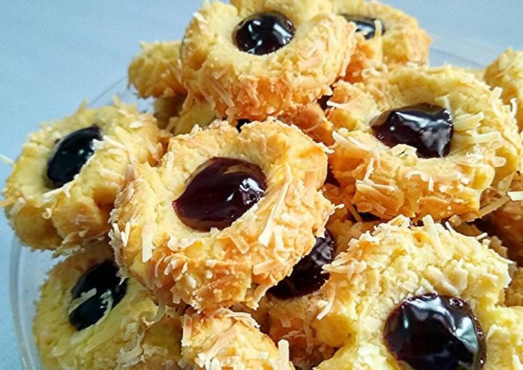 Resep Blueberry Thumbprint Kue Kering Untuk Lebaran Oleh Uli S