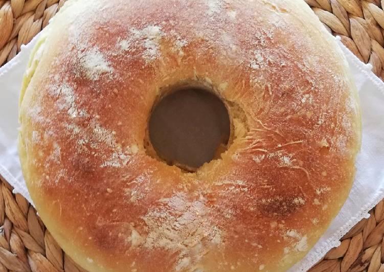 Cucciddatu, ciambella di pane siciliano....a modo mio. 🌷