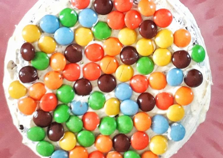 Kue ulang tahun/base cake brownies kukus tanpa DCC