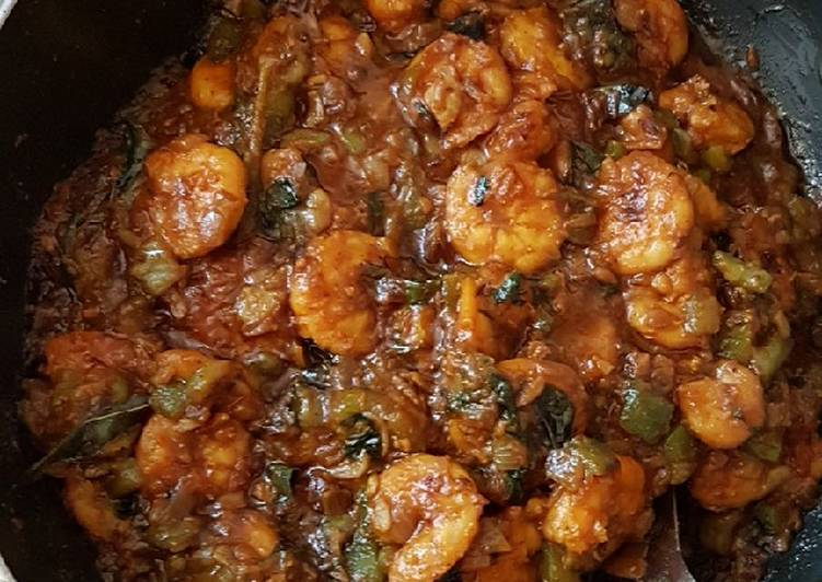 5 Easy Dinner Prawns bitter guard curry