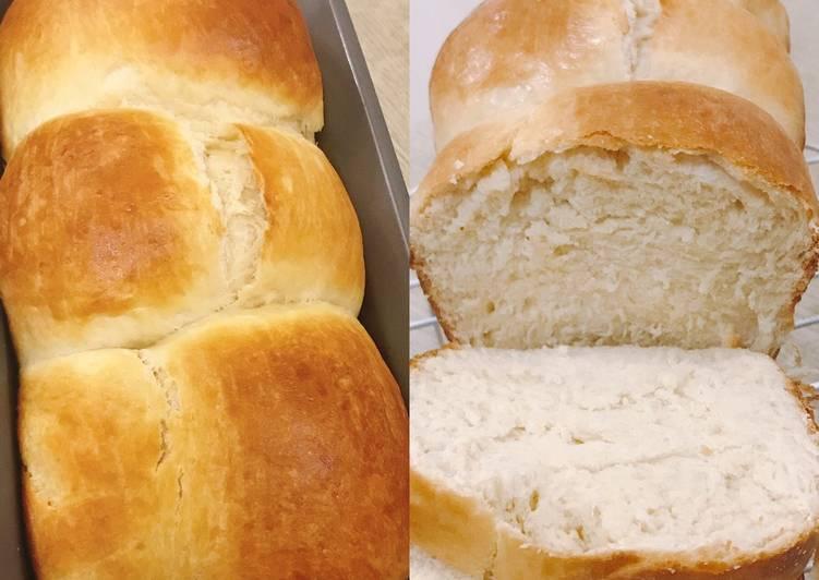 Recipe: Appetizing Japanese Hokkaido milk bread