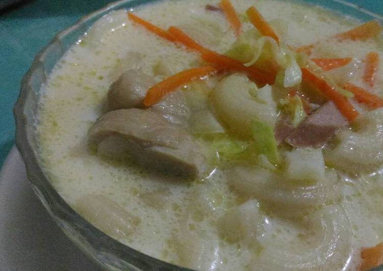 Recipe of Favorite Creamy Chicken Macaroni Soup