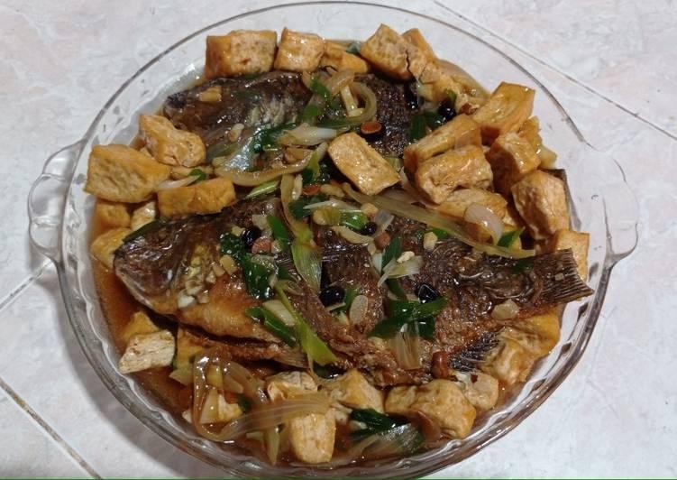 5. Ikan Mujair Tahu Taosi