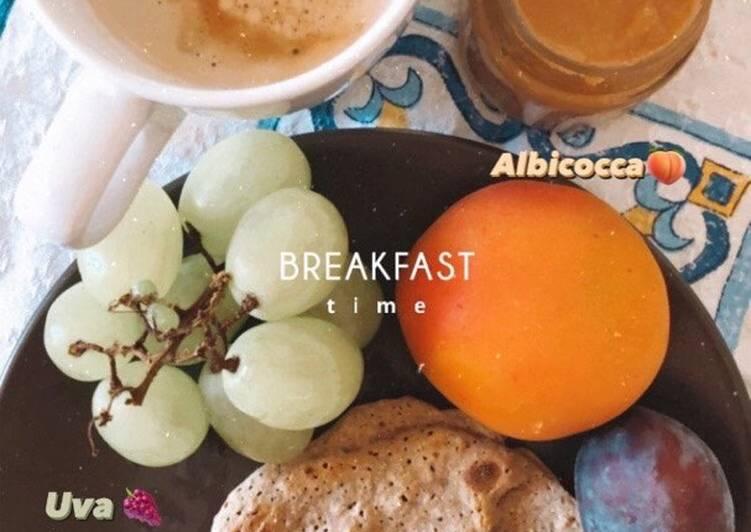 Colazione Vegan & Leggera con Pancake Fit🥞🍇🍑🌱