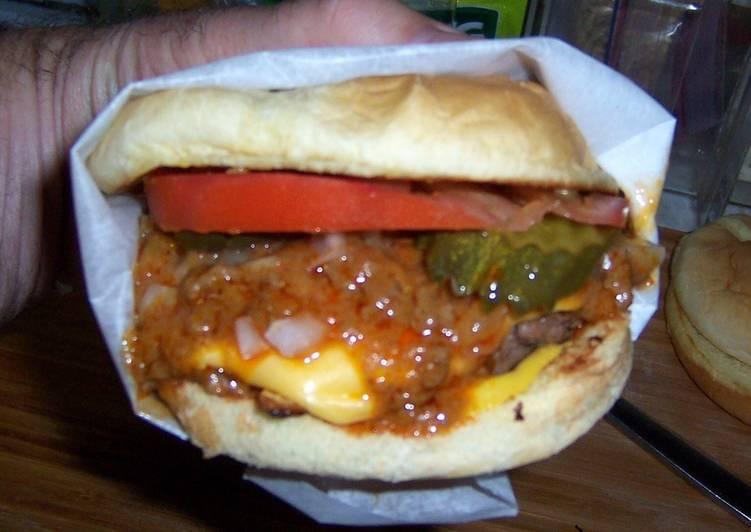 Gary's Island world famous chili burger
