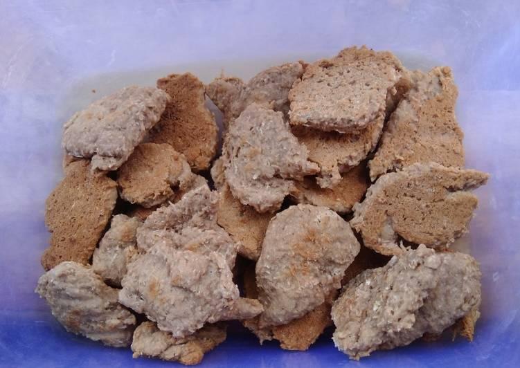 Cookies coklat ampas kelapa