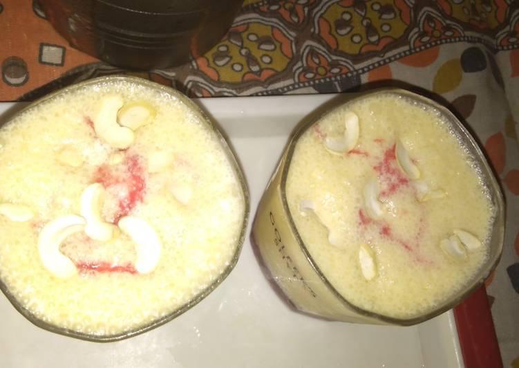 30 Minute Simple Way to Make Winter Mango lassi