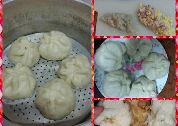 Resep Bakpao isi Ayam/bangkuang Paling dicari