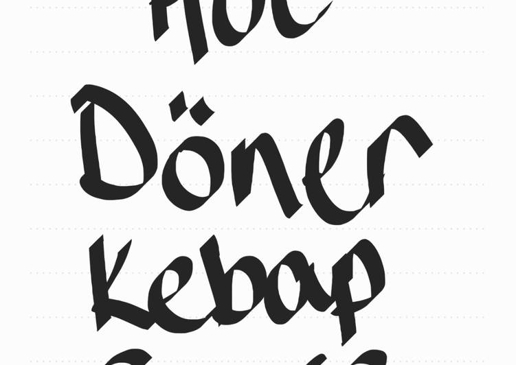 Hot doner kebab sauce (1)
