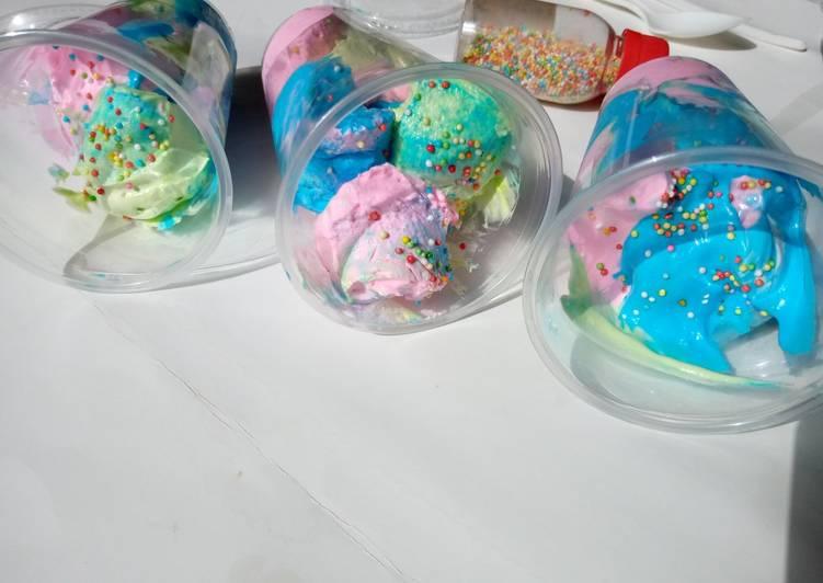 Sprinkle icecream