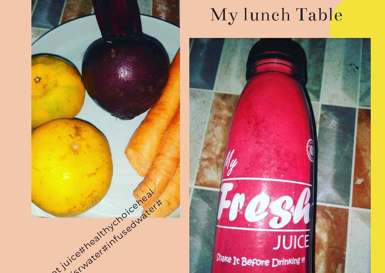 Heathy juice beetroot detox liver