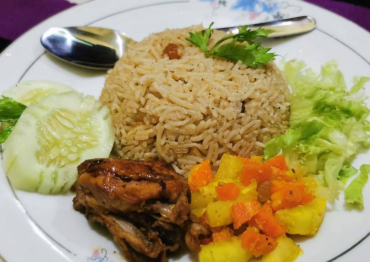 Nasi Kebuli Ayam madu - cookandrecipe.com