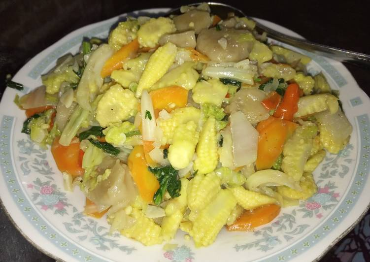 Capcay sayuran