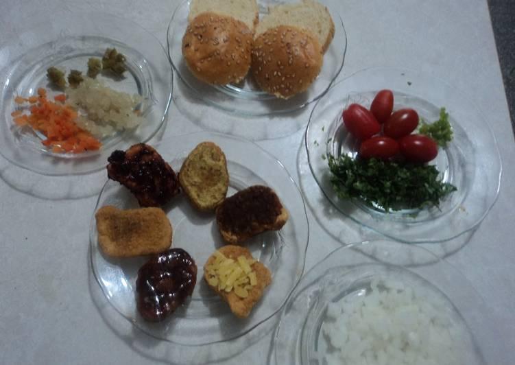 Tostadas y bocadillos veganos para fiesta geras