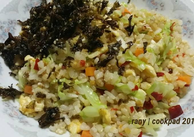Resep Nasi Goreng Cabe Kering Pekaninspirasi Oleh Rany Anya Cookpad