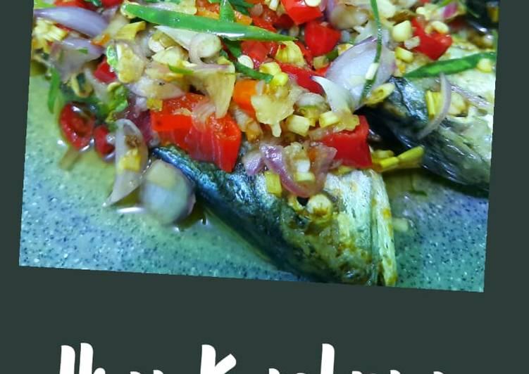 Resep Ikan Kembung Sambal Matah Yang Populer Enak