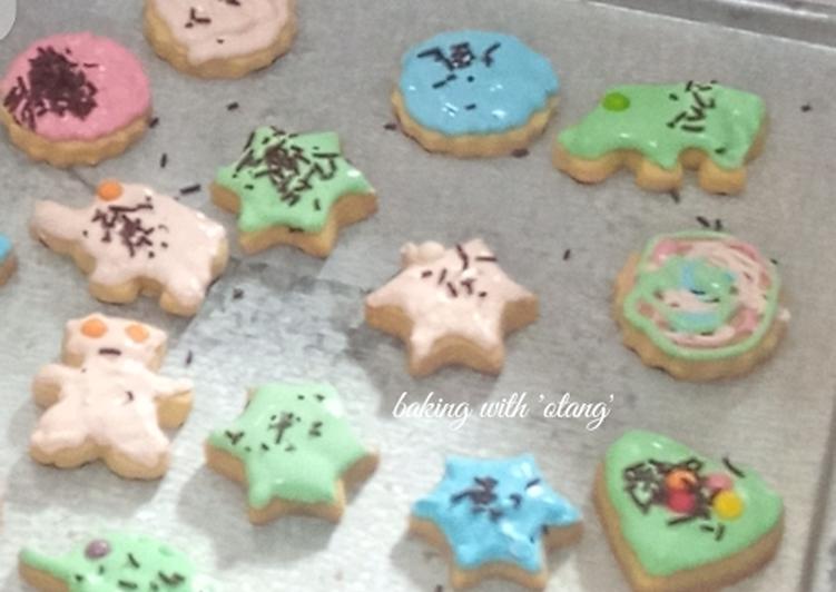 Resep: Enak Cookies Icing Sugar Oven Tangkring
