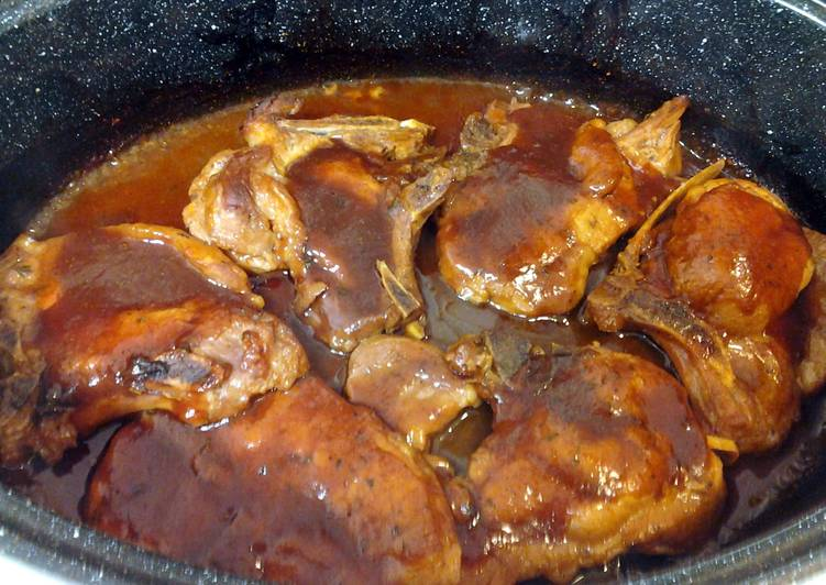 Bbq Pork chops - Laurie G Edwards