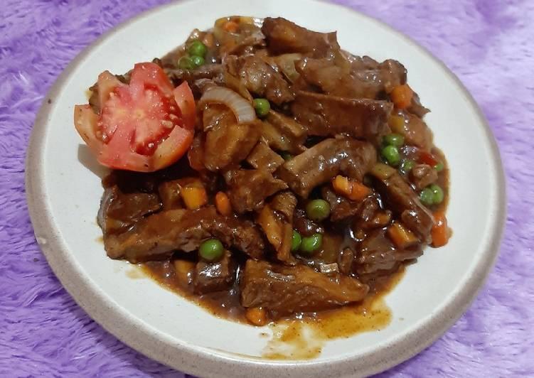 Beef sauce blackpaper