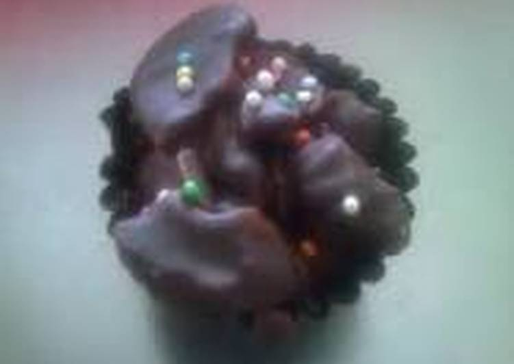 corn flakes chocolate little cup