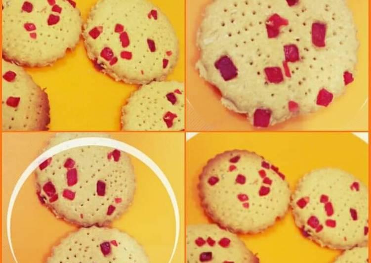 Maize flour cookies