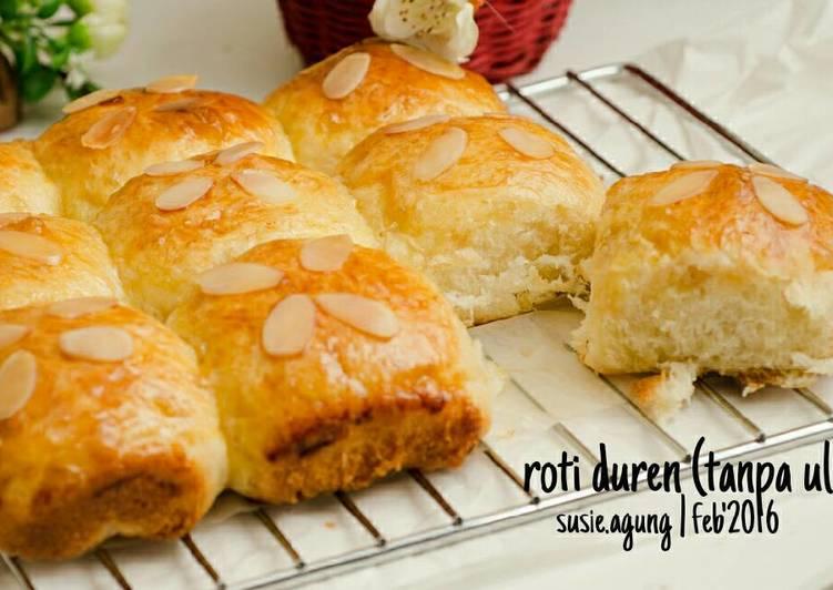 Roti duren (tanpa ulen)