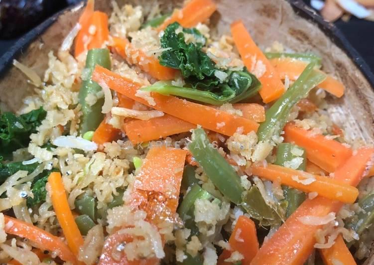 Urap sayur sehat sederhana