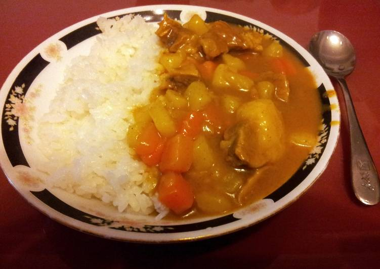 super delicious curry for rice
