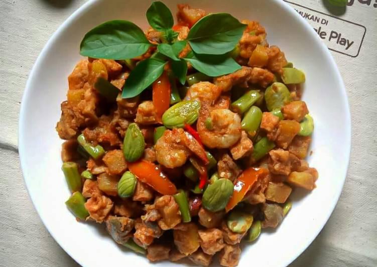 Sambal Goreng Tahu Buncis - cookandrecipe.com