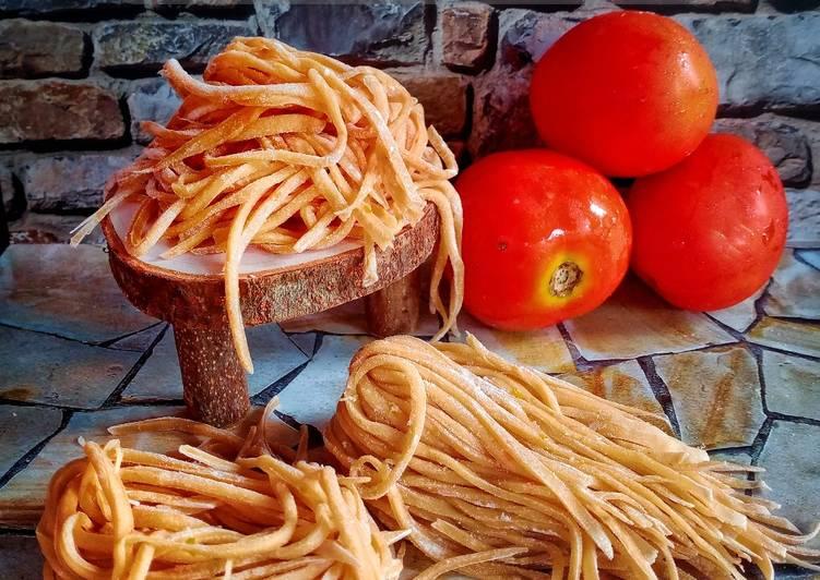 Easiest Way To Prepare Delicious Cara Membuat Mie Homemade Sehat Dari Tomat