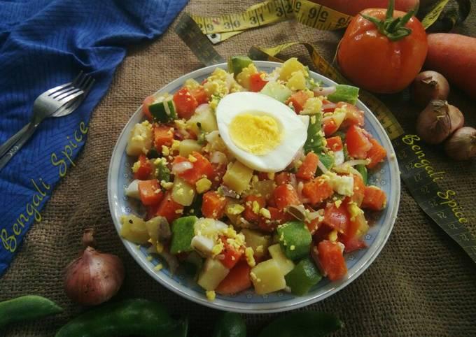 Healthy Fitness Salad 🍲
