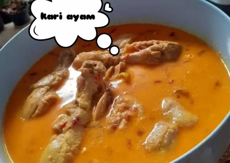 Kari ayam (resep nenek moyang)
